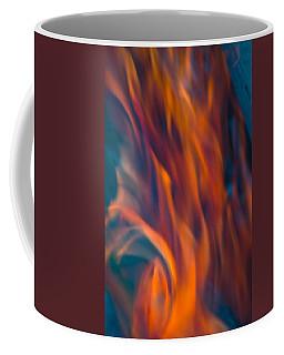 Orange Fire Coffee Mug