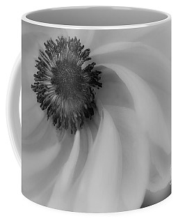 Orange Flower In Black And White Coffee Mug
