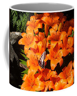 Orange Lilies Coffee Mug
