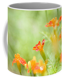 Orange Meadow Coffee Mug by Ann Lauwers