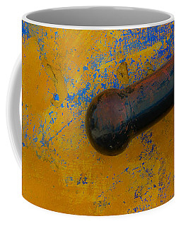 Orange On Blue Coffee Mug