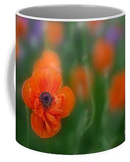 Orange Poppy Coffee Mug