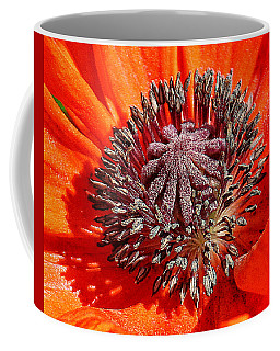 Orange Poppy Coffee Mug