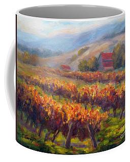 Orange Red Vines Coffee Mug