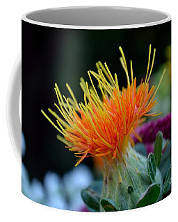 Orange Safflower Coffee Mug