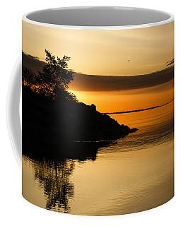 Orange Sunrise Coffee Mug
