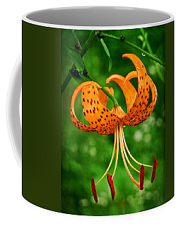 Orange Tiger Lily Coffee Mug