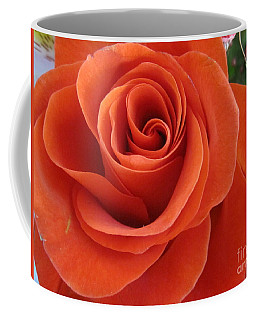 Orange Twist Rose 2 Coffee Mug