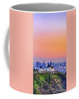 Orangesicle Griffith Observatory Coffee Mug