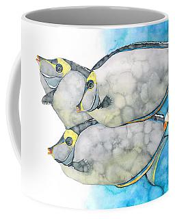 Orangespine Unicornfish Coffee Mug