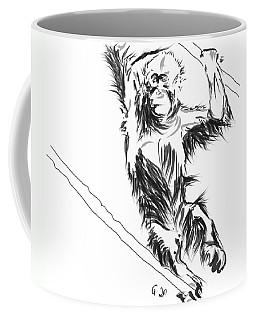 Orangutan 3 Coffee Mug