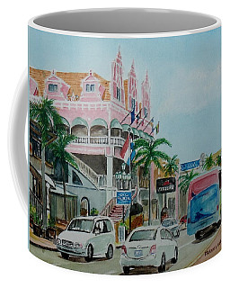Oranjestad Aruba Coffee Mug by Frank Hunter