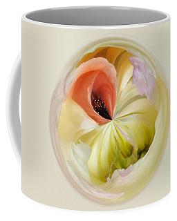 Orb 4... Poppy Meets Peony Coffee Mug