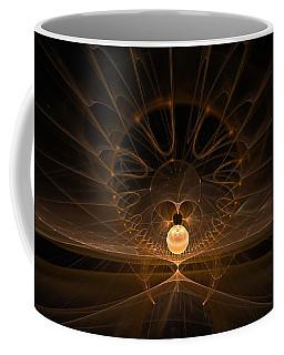 Coffee Mug featuring the digital art Orb by GJ Blackman