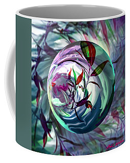 Orbiting Cranberry Dreams Coffee Mug