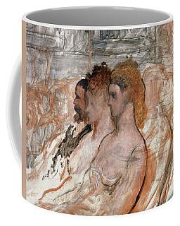 Orchestra Stalls, C.1865 Oil On Canvas Coffee Mug