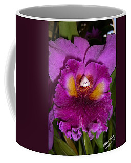 Orchid Flames Coffee Mug