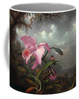 Orchid And Hummingbir Coffee Mug