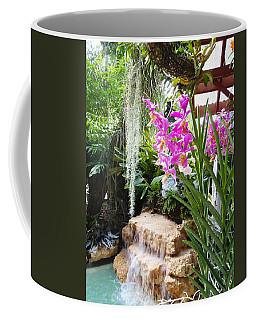 Orchid Garden Coffee Mug
