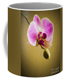 Orchid In Digital Oil Coffee Mug