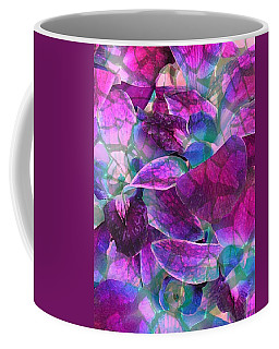 Coffee Mug featuring the photograph Orchid Splash by Diane Alexander