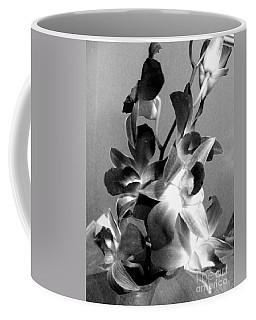 Orchids 2 Bw Coffee Mug