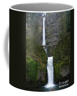 Oregon Long Shot Of  Falls Coffee Mug