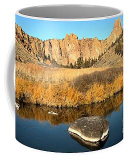 Oregon River Rock Reflections Coffee Mug