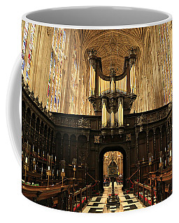 Organ And Choir - King's College Chapel Coffee Mug