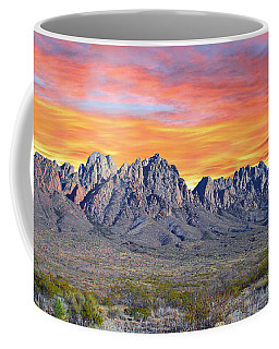 Organ Mountain Sunrise  Coffee Mug
