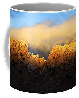 Organ Mountains Symphony Of Light Coffee Mug by Bob Christopher