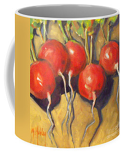 Organic Radishes Still Life Coffee Mug