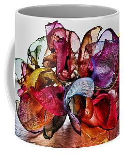 Organza Petals Coffee Mug