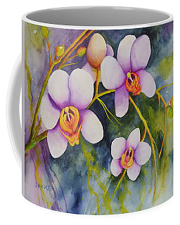 Orchids In My Garden Coffee Mug