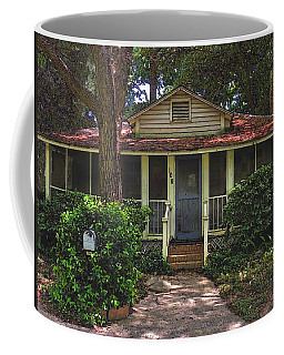 Coffee Mug featuring the photograph Original Beach Cottage #108 by Laura Ragland