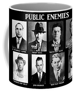 Original Gangsters - Public Enemies Coffee Mug