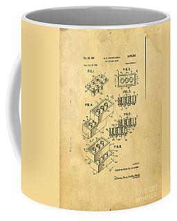 Original Us Patent For Lego Coffee Mug