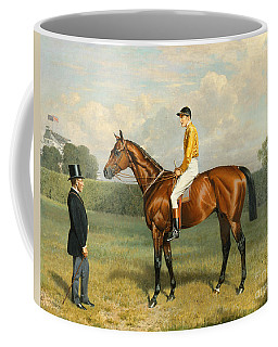 Ormonde Winner Of The 1886 Derby Coffee Mug