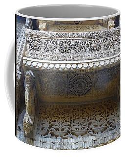 Ornate Decorative Balcony Jaisalmer Fort Rajasthan India Coffee Mug