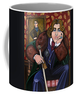 Oscar Wilde And The Picture Of Dorian Gray Coffee Mug