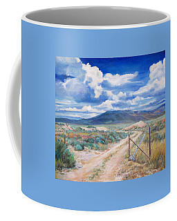 Osceola Nevada Ghost Town Coffee Mug by Donna Tucker