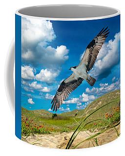 Osprey On Shackleford Banks Coffee Mug
