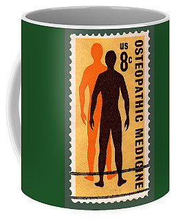 Osteopathic Medicine Stamp Coffee Mug by Phil Cardamone
