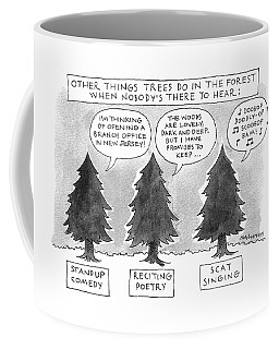 Other Things Trees Do In The Forest When Nobody's Coffee Mug