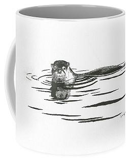 Otter In The Water Coffee Mug