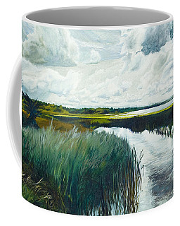 Otter Tail River From Bridge Coffee Mug