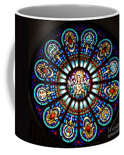 Our Blessed Mother Coffee Mug by Debby Pueschel