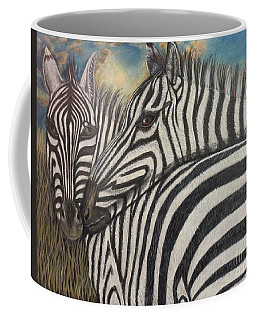 Our Stripes May Be Different But Our Hearts Beat As One Coffee Mug