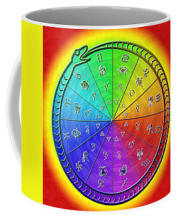 Ouroboros Alchemical Zodiac Coffee Mug