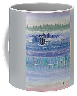 Out House In Nowhere Coffee Mug